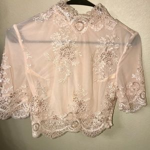 House of CB Tops - House of CB Saccala Pink Top Retail $157